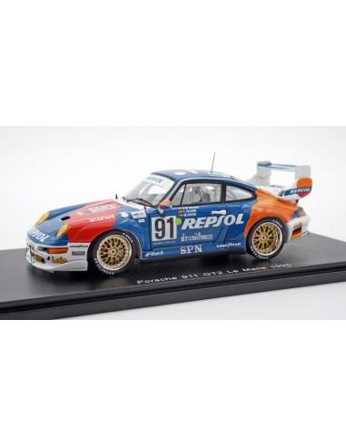 Porsche 911 GT2 nº91 24h Le Mans 1995...