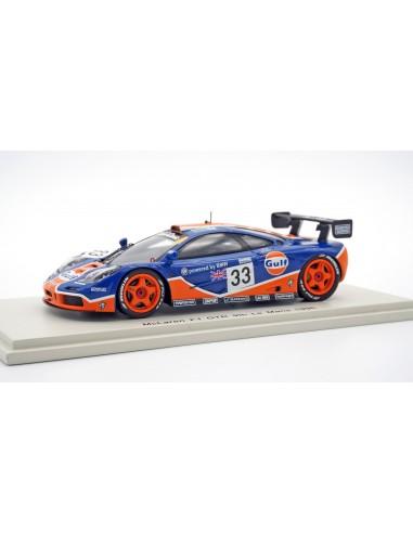 McLaren F1 GTR nº33 9º Le Mans 1996...