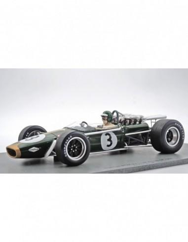 BRABHAM BT24 N°3 3º GP Sudáfrica 1968...